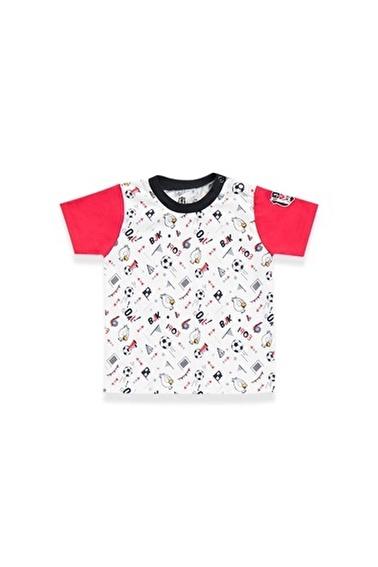 Beşiktaş Beşiktaş Lisanslı Bebek T-Shirt Beyaz Beyaz